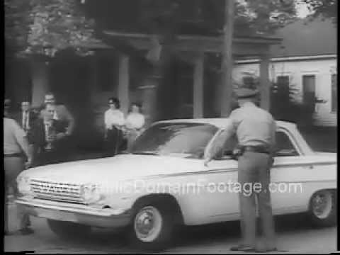 James Meredith University of Mississippi 1962 Integration Riot Newsreel PublicDomainFootage.com