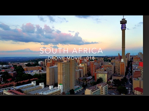 The Mavic Pro Goes to South Africa, Johannesburg