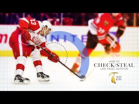 How to Check In Hockey - Steal Pucks Like Pavel Datsyuk