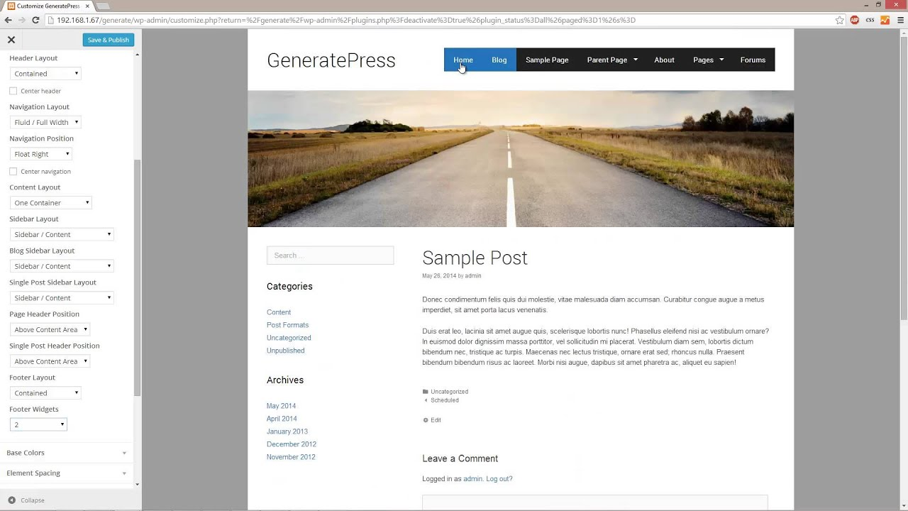 GeneratePress - Amazing FREE WordPress Theme