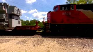 CN 3119 South in 3D VR180 on 6-24-2018