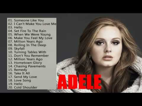 Adele Greatest Hits Cover Full Album _The Best Songs Of Adele Nonstop Playlist