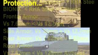 Dare to Compare --- M2A3 Bradley versus BIONIX 25!