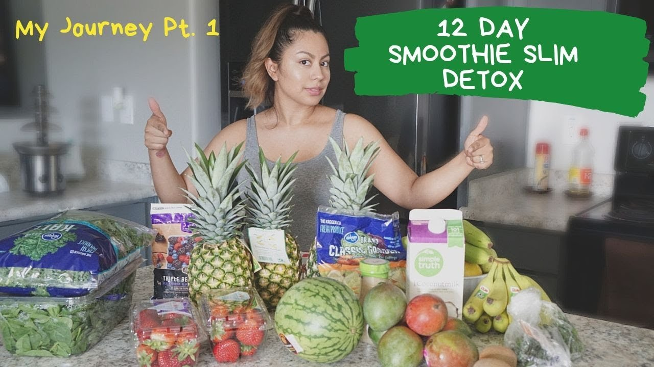 12 Day Smoothie Slim Detox My Weightloss Journey How Does