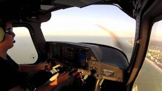Whitted Airport Beach Flight Cessna Skycatcher 162 (With ATC)