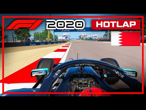 F1 2020 Bahrain Hotlap + Setup (1:24.829) (World Record!)