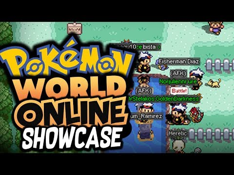 MY OLD FAVORITE POKEMON MMO! - Pokemon World Online (MY CHILDHOOD MMO GAME!)