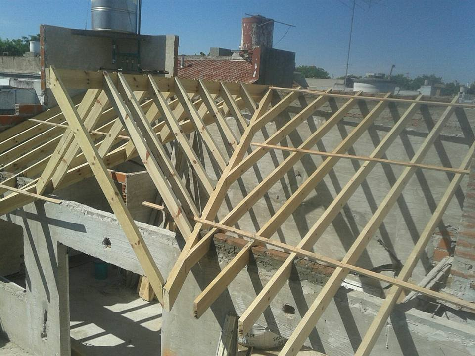 Techista zona oeste youtube for Como hacer tejados de madera