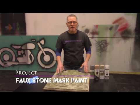 Faux Stone Mask Paint