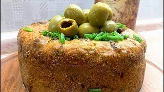 Соленый пасхальный кулич. Легкие рецепты. #супербатя на кухне