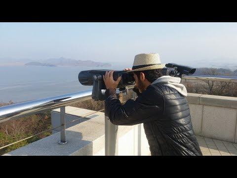 a trip to NORTH KOREA  's Border            [RAW FOOTAGE] [vLOG]