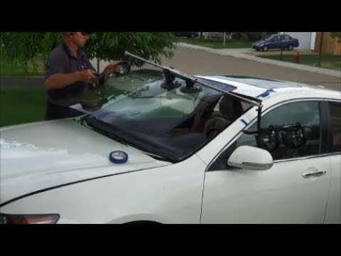 Acura TSX Windshield Replacement Timelapse YouTube - Acura windshield replacement