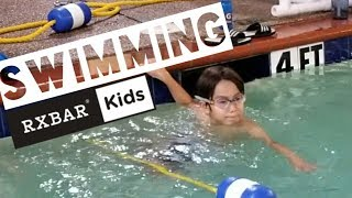 Swimming with RXBAR Kids