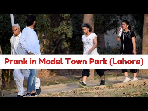 Prank in Model Town Park | Lahore | By Haris Awan