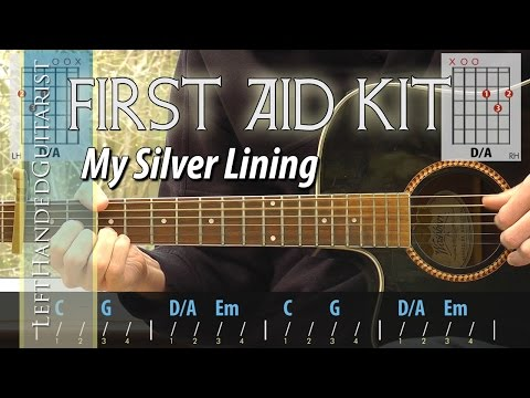 First Aid Kid - My Silver Lining | guitar lesson