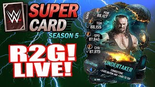 NEW CATACLYSM TIER!! UNDERTAKER ROAD TO GLORY - WWE SUPERCARD LIVE