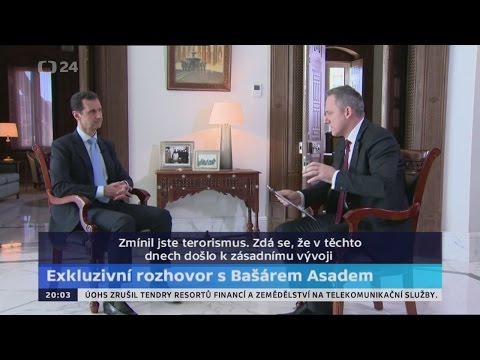 [AE News] Bašár Asad exkluzivně v rozhovoru pro Českou televizi