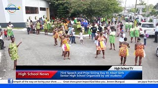 High School News - Aburi Girls 73rd Speech day, Kelvyn Boy, Methodist Girls' SHS and others...