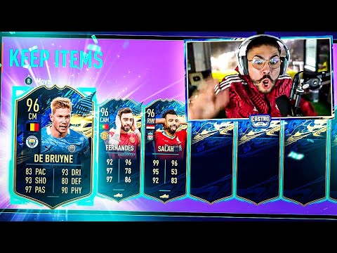OMG I PACKED A 96 PREM TOTS!! MY BEST TOTS!! FIFA 21