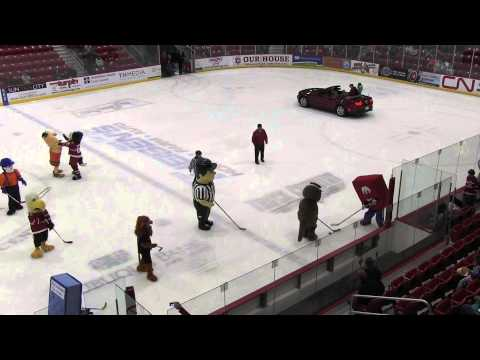 Mascot Mania Hockey Game with the Fighting Saints & Victory Ford