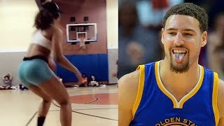 Klay Thompson's New Girlfriend is a Baddie with a Jumpshot