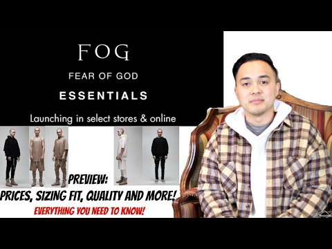 FEAR OF GOD FOG ESSENTIALS from PacSun Preview: Everything you need to know!