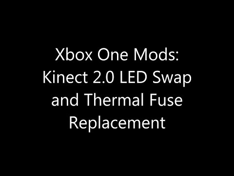 Xbox One Mods: Kinect 2.0 LED Swap and Thermal Fuse Replacement Xbox Fan Fuse on