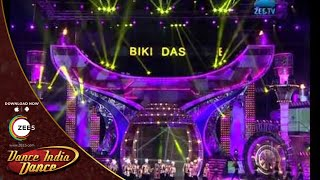 Dance India Dance Season 4 Grand Finale February 22, 2014 - Biki Das' Performance