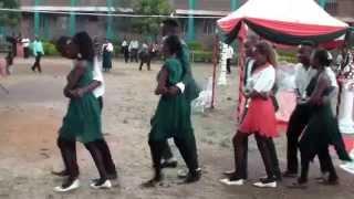 Creative kenyans perfom Salsa dance