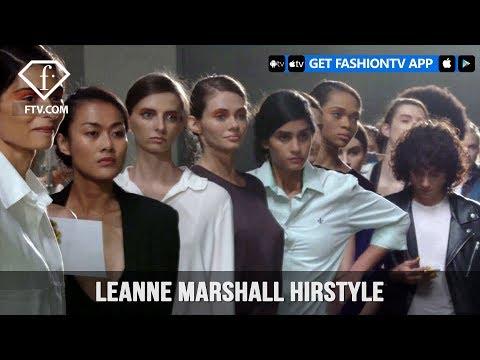 New York Fashion Week Spring/Summer 2018 - Leanne Marshall Hirstyle   FashionTV