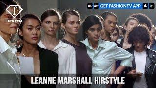 New York Fashion Week Spring/Summer 2018 - Leanne Marshall Hirstyle | FashionTV