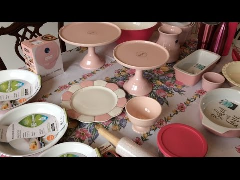 Haul! Pink Kitchen Finds From Home Goods & TJ Maxx