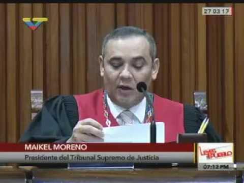DECISIONES DE TRIBUNAL SUPREMO DE JUSTICIA  DE LA REPÚBLICA BOLIVARIANA DE VENEZUELA..