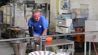 В стеклодувной мастерской (Мурано)