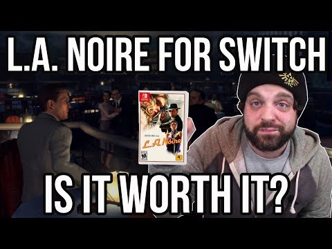 L.A. Noire for Nintendo Switch - IS IT WORTH IT? | RGT 85