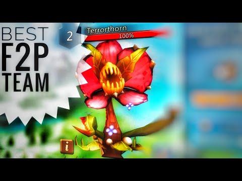 Lords Mobile - Best F2P TerrorThorn Monster Hunting Team