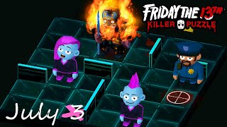 Friday the 13th Killer Puzzle Daily Death July 3 2020 Walkthrough