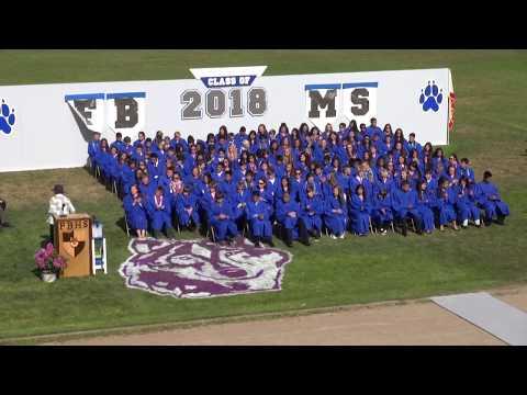 Fort Bragg Middle School Graduation Class of 2018