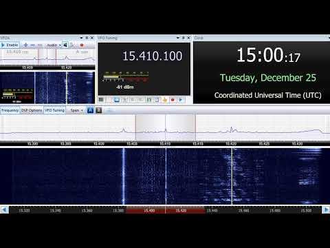 25 12 2018 Eye Radio in English & Juba Arabic to EaAf 1459 & 1500 on 15410 Santa Maria di Galeria