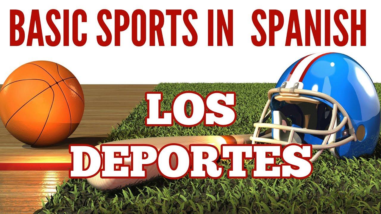 Basic Sports in Spanish (phrases + tips) - Los deportes en español - YouTube