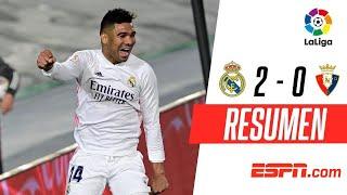 ¡LOS BLANCOS SIGUEN A PASO FIRME EN LA PELEA POR LA LIGA! | Real Madrid 2-0 Osasuna | RESUMEN