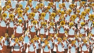 comfortable talladega college marching band 2015   filmed in 4k