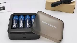 Акумуляторна батарея 2A 8 шт з Зарядним Пристроєм Комплект 8 шт Бренд : #NANFU