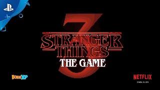 『Stranger Things 3: The Game』 ゲームプレイトレーラー