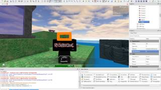 [2] Changing Properties with the Command Line - Roblox Scripting Tutorials