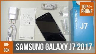 SAMSUNG GALAXY J7 2017 -- déballage par TopForPhone