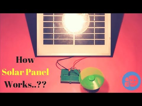 How Solar Panel Works..?? || Science Experiments  🚥