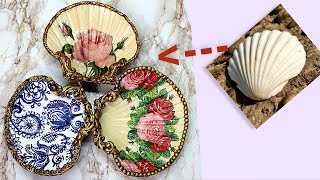 DIY/Beautiful Idea with Seashells / Home decor