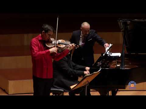 Jordán Tejedor&Ruben Lorenzo: Ravel Sonata posthume violín piano