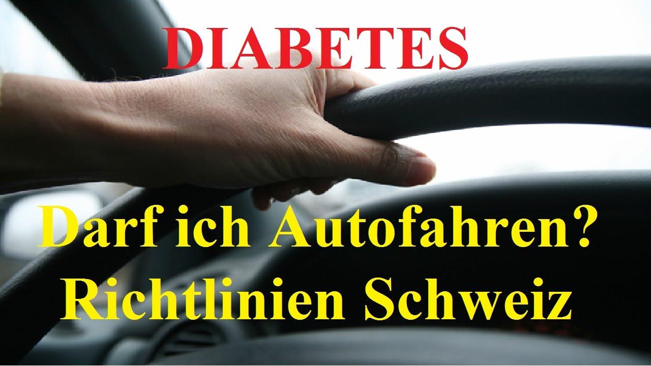 Autofahren mit diabetes